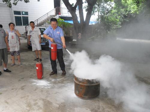 西野电器消防安全培训